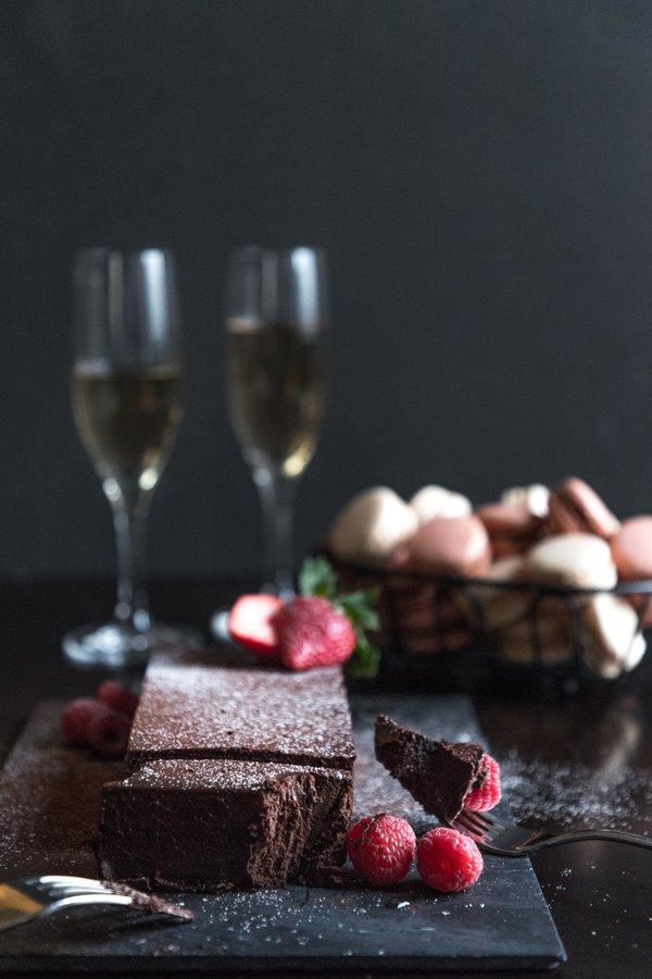 Valentine's Day dessert at EPIC Restaurant at Fairmont Royal York Hotel