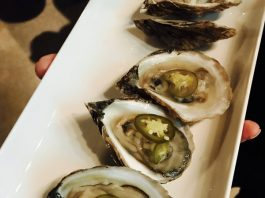 Oysters at Aeroplan's Chefs for Change