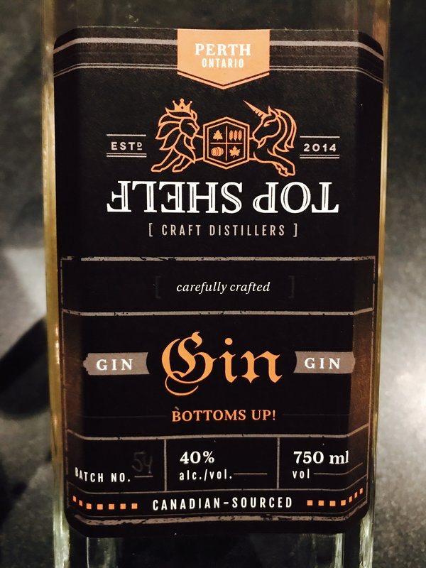 Top Shelf Gin at Aeroplan's Chefs for Change