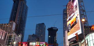 Toronto Eaton Centre on Yonge Street