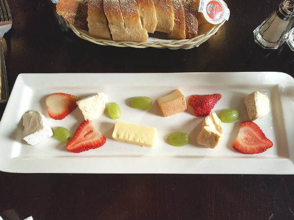Assiette de Fromage at Le Papillon on Front, $16