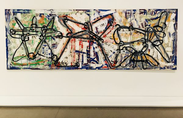 Avatac, 1971, Riopelle, acrylic on lithographs 01 at the AGO