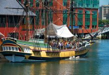 Boston Tea Party Boat
