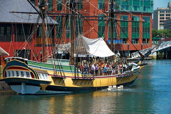 Boston Tea Party Boat