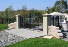A Toronto gated mansion