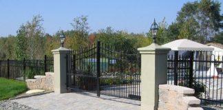 A Toronto gated mansion