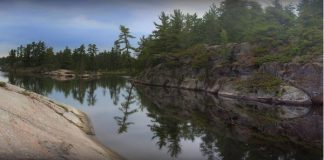 Grundy Lake Provincial Park, Ontario. FInd out about essential tips for getting better sleep while camping, photo credit rokker