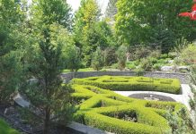 This stunning garden incorporates both English and French influences. The garden is part of Mark's Choice Through The Garden Gate 2018 in Toronto.