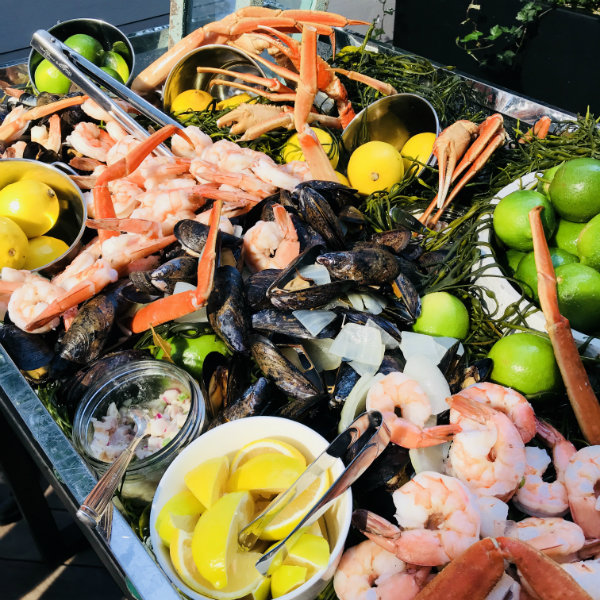 Seafood on Cottage Social menu at DEQ Patio