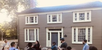 Burwick House on Haunted Walk at Nightlife at Black Creek Pioneer Village