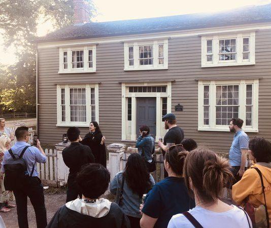 Burwick House on Haunted Walk at Nightlife at Black Creek Pioneer Village
