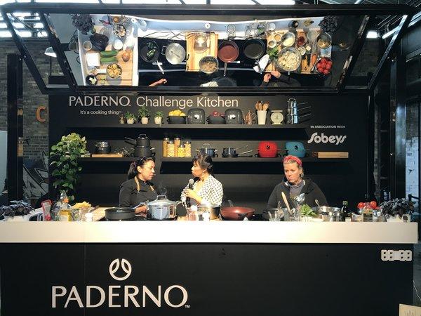 Paderno Sample Kitchen at Tastemaker at Evergreen Brick Works