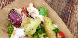 Spanish Octopus at Tastemaker at Evergreen Brick Works