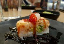KaKa Signature Oshi Sushi at KaKa All You Can Eat Sushi Restaurant in Toronto