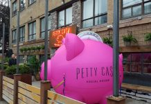 Petty Cash Bar at 487 Adelaide Street West, Toronto