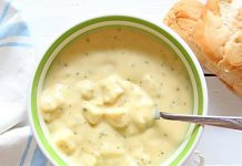 Vegan Broccoli Cheese Soup is healthy yet satisfying.