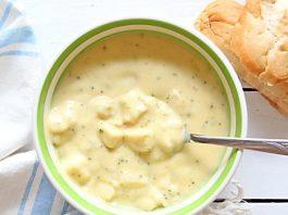 Vegan Broccoli Cheese Soup is healthy yet satisfying.