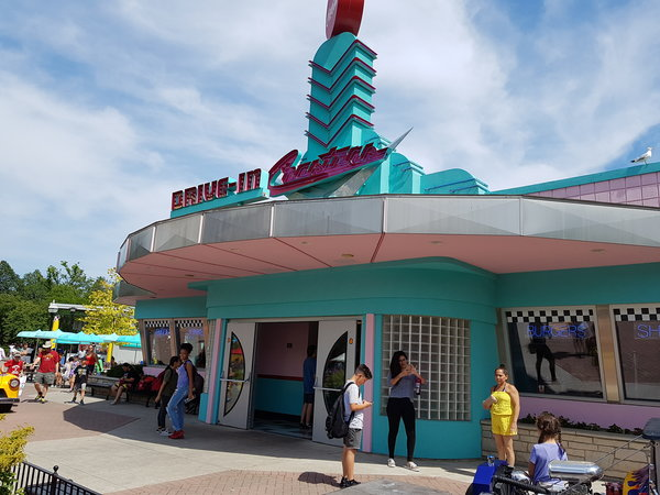 Coasters is a 50s themed restaurant in Action Zone at Canada's Wonderland