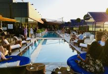 Lavelle Rooftop Bar on King Street West opens its pools to the public for a daily fee.