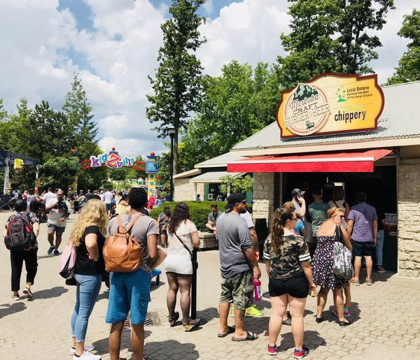 Muskoka Craft Burger Stand at Canada's Wonderland