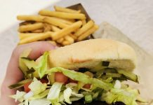 Veggie Burger at Canada's Wonderland