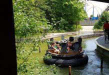 White Water Canyon ride at Canada's Wonderland