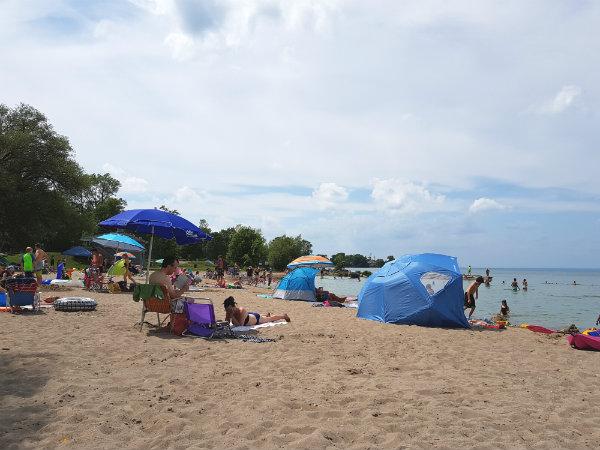 Franklin Beach, Jackson's Point