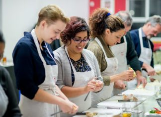 Cooking classes at Aphrodite Cooks are popular cooking classes in Toronto.