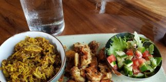 Shawarma Plate at Crowded House