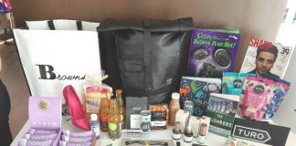 Bask It Style gift bag for TIFF 2018