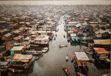 Makoko #2, Lagos, Nigeria, 2015 by Edward Burtynsky