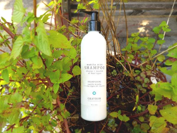 Matcha Mint Shampoo from Graydon Skincare