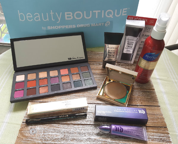 VIP Gift Bag from beautyBOUTIQUE by Shoppers Drug Mart TIFF Beauty Lounge