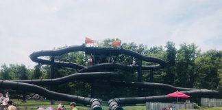 Black Hole Slide at Canada's Wonderland