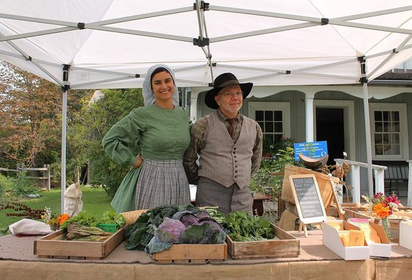 Pioneer Harvest Festival at Black Creek Pioneer Village is one of the most educational fall fairs in Toronto, photo courtesy Black Creek Pioneer Village