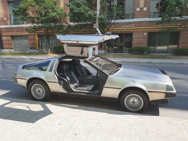 The DeLorean is one of the cars you can rent on Turo.