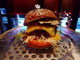 The Royal Burger at TIFF Pop Up at Omni King Edward Hotel