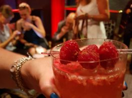 Unconventional Love Cocktail at TIFF Pop Up Lounge at Omni King Edward Hotel