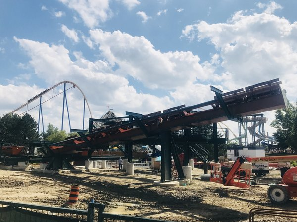 Yukon Striker Main Platform at Canada's Wonderland