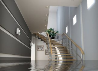 Before removing any water from your basement, cut off the power supply.