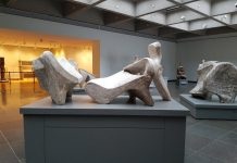 Henry Moore sculptures at the Art Gallery of Ontario