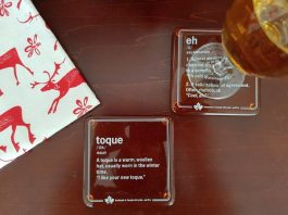 Canadianism Coasters from shopAGO at the Art Gallery of Ontario