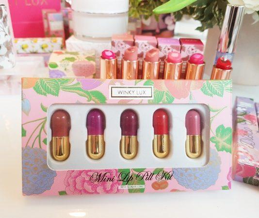Mini Lip Pill Kit from Winky Lux