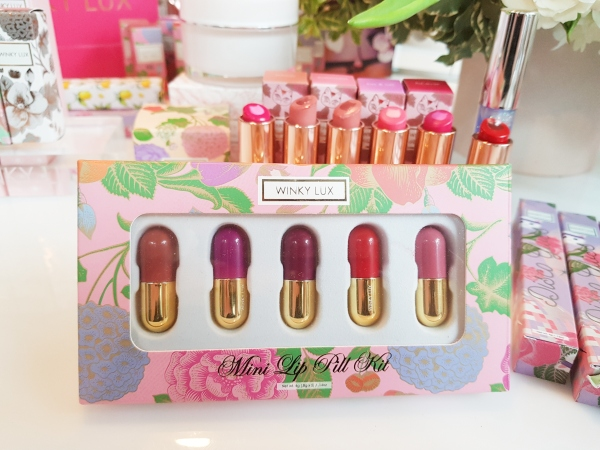 Mini Lip Pill Kit from Winky Lux