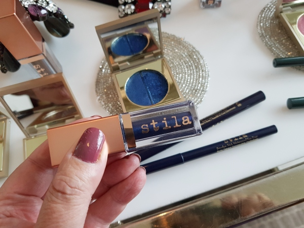 Stila Shimmer and Glow Liquid Eye Shadow in Vivid Sapphire