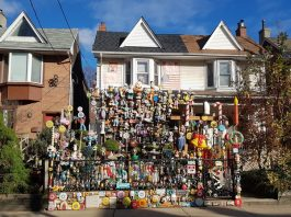 Dollhouse on Bertmount Avenue in Toronto