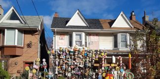 Dollhouse on Bertmount Avenue in Toronto