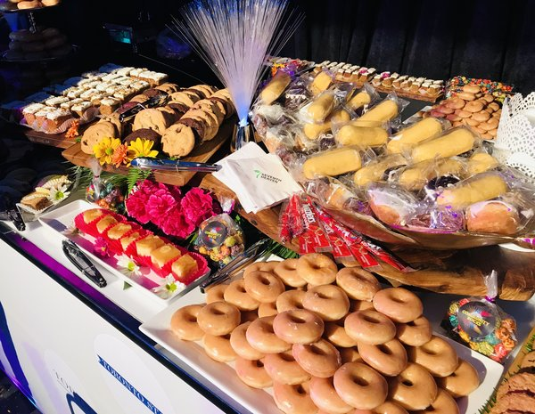 Dessert station at Community Rocks 2018