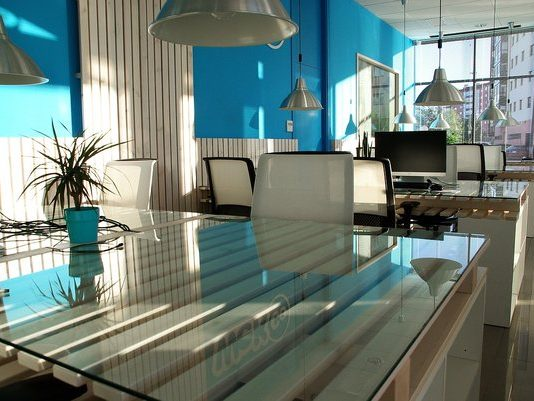 Working in a shared office space creates a sense of community for freelancers or entrepreneurs.