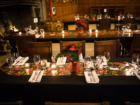 Winter Buffet at Hart House is one of the most popular holiday buffets in Toronto